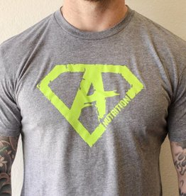 Athletes Nutrition AN: Shirt Green/Grey Large