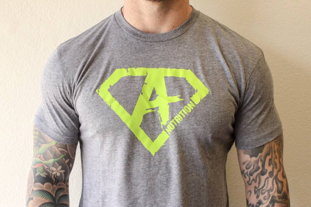 Athletes Nutrition AN: Shirt Green/Grey XL