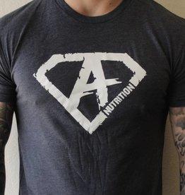 Athletes Nutrition AN: Shirt Navy/White  XXL