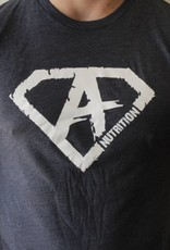 Athletes Nutrition AN: Shirt Navy/White Medium