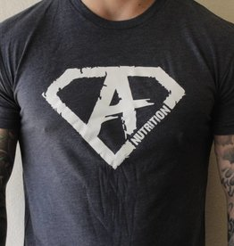 Athletes Nutrition AN: Shirt Navy/White Small