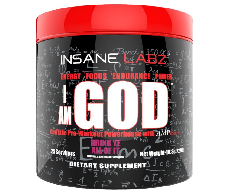 Insane Labz InsaneLabz: IAmGod Fruit Punch