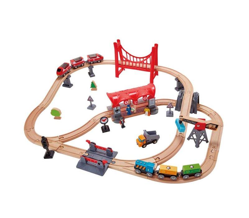Busy City Rail Set