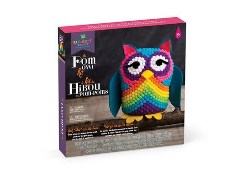 Craft Tastic POM kit hibou