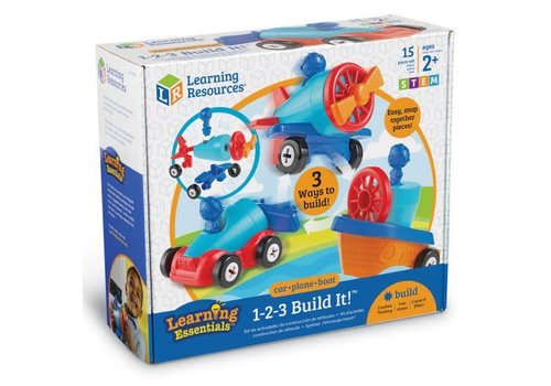 Learning Resources Build it voiture et avion