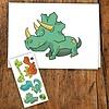 pico Carte de souhait - Dinosaure