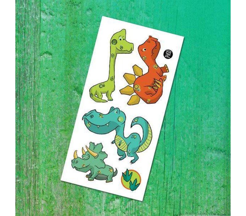 Carte de souhait - Dinosaure