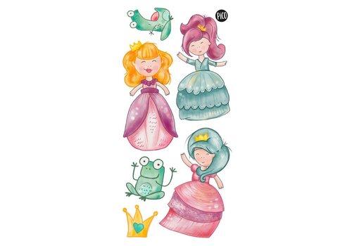 pico Tatouages temporaires Les princesses