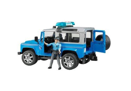 Bruder Land Rover Defender Station Wagon Police vehicle