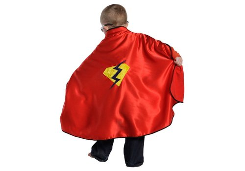 creative education Adventure Cape with Rev. Mask, Red, Size 5-6