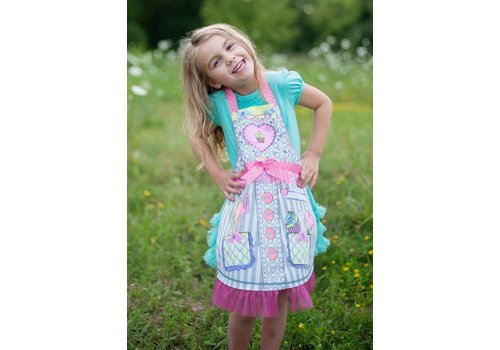 creative education Colour-An-Apron, Size 4-7