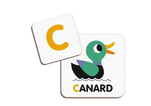 Janod Magnetibook Alphabet - français