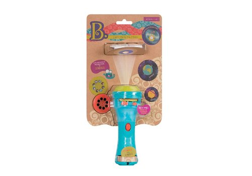 Battat / B brand Light Me to the Moon Projector Flashlight
