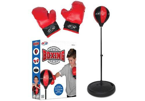 Ensemble de boxe de plancher & gants de boxe