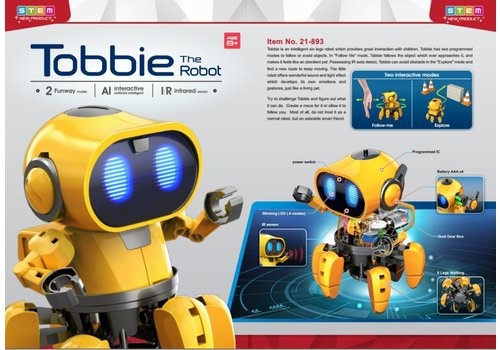 STEM The tobbie Robot