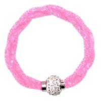 Classy Crystal Clasp Bracelet