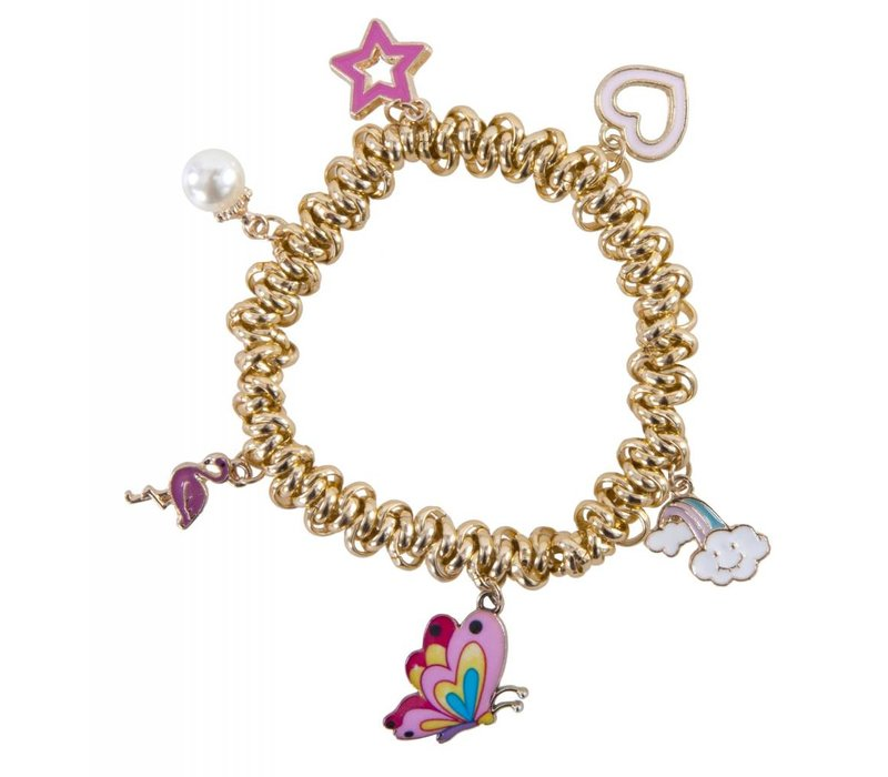 Charm-ed & Chain Bracelet