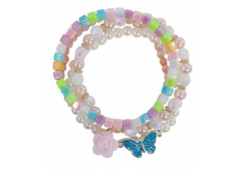 creative education Pearly Butterfly Bracelet (4 pcs)