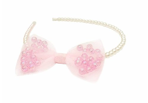 creative education Pearly Perfect Headband with Bow