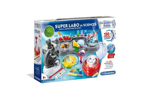 Clementoni Super labo des sciences