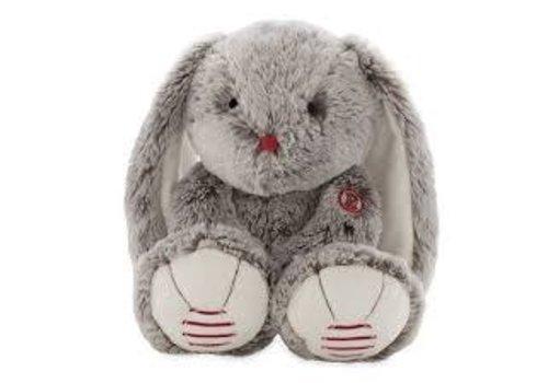 Kaloo Rouge coeur Grand lapin gris