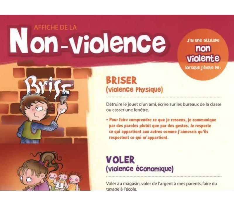 Affiche de la non-violence