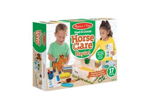 Melissa & Doug Ensemble de soins des chevaux