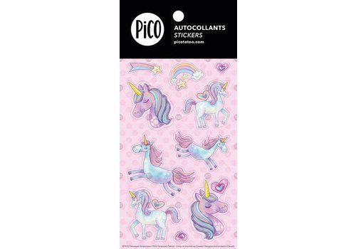 pico Autocollant- Les mignonnes licornes