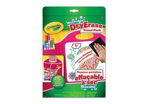 Crayola Trousse portative effaçable à sec
