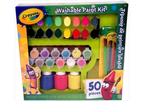 Trousse de peinture lavable