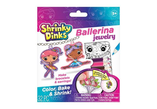 Shrinky Dinks® Ballerina jewelry
