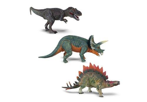 Ensemble de 3 dinosaures articulés