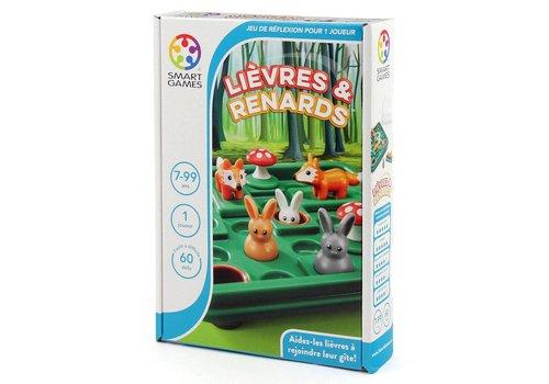 Smart Games Jeu Lièvres et renard (français)