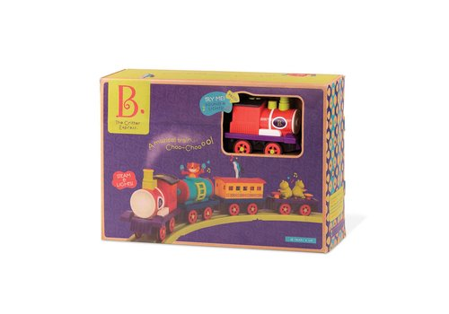 Battat / B brand Ensemble de train The Critter Express