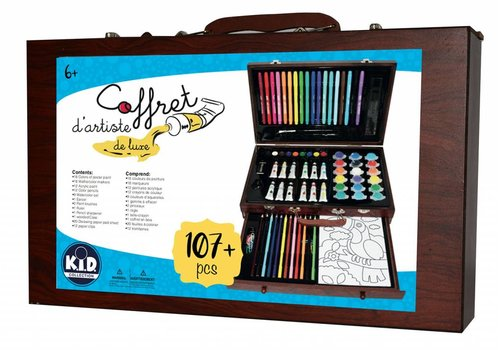 kid collection Coffret d'artiste de luxe