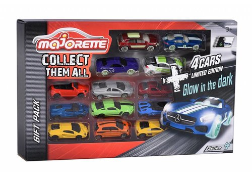 Majorette Ensemble 9 voitures+4 Édition Limitée
