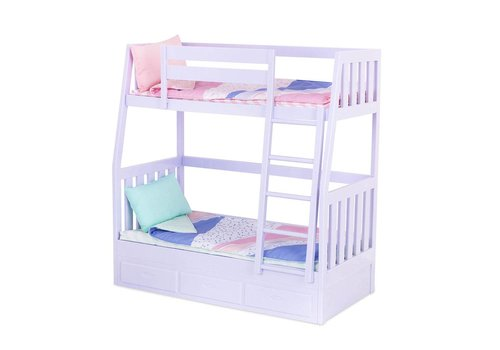 Our generation Lits superposés Dream Bunks pour poupées 46 cm
