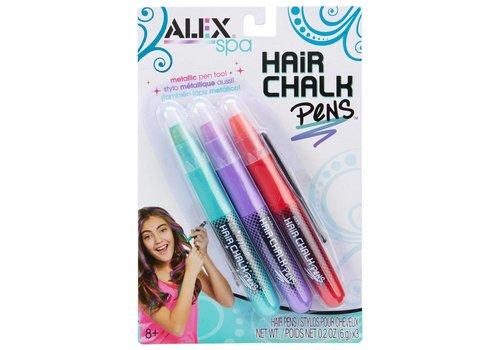 Ensemble de 3 crayons pour cheveux 2 modèles assortis