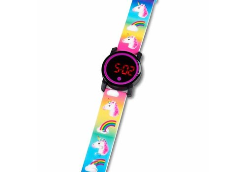 Top Trenz Montre licorne LED