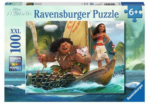 Ravensburger Moana et Maui (100 pc Puzzle)