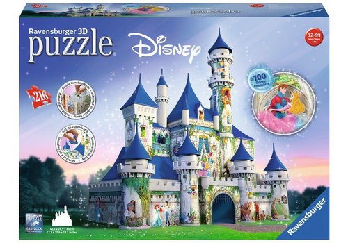 Ravensburger Disney Castle (216 pc Puzzle)