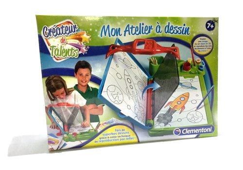 Clementoni MON ATELIER à DESSIN (FR.)