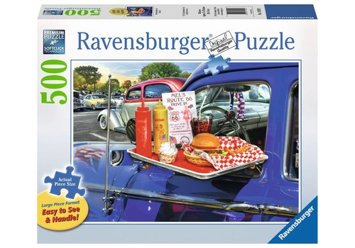 Ravensburger Drive-Thru Route 66