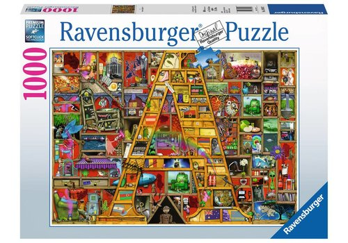 "Ravensburger Awesome Alphabet ""A"" (1000 pc Puzzle)"