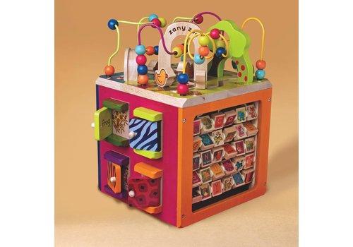 Battat / B brand Cube d'activités géant Zany Zoo