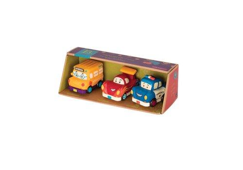 Battat / B brand B.Lively - Mini Vehicules ensemble cadeau