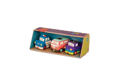 Battat / B brand Mini Vehicules 3 pièces ensemble cadeau