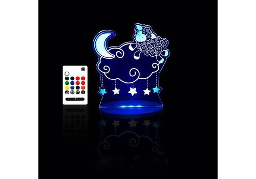 Next Generation Distributors Inc. Tulio Lampe de nuit Agneau