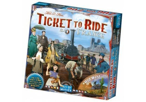 Days of Wonder Ticket to Ride France/ Old West