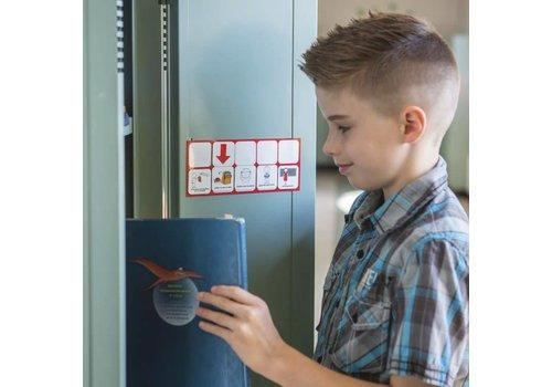 IdeoPicto Support magnétique pour aire de travail